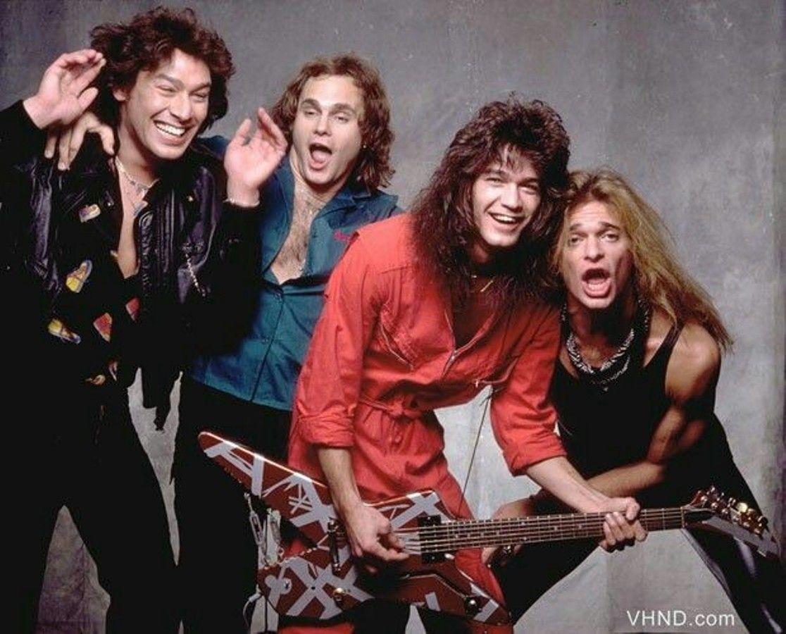 Van Halen With David Lee Roth As Singer Van Halen Eddie Van Halen Halen