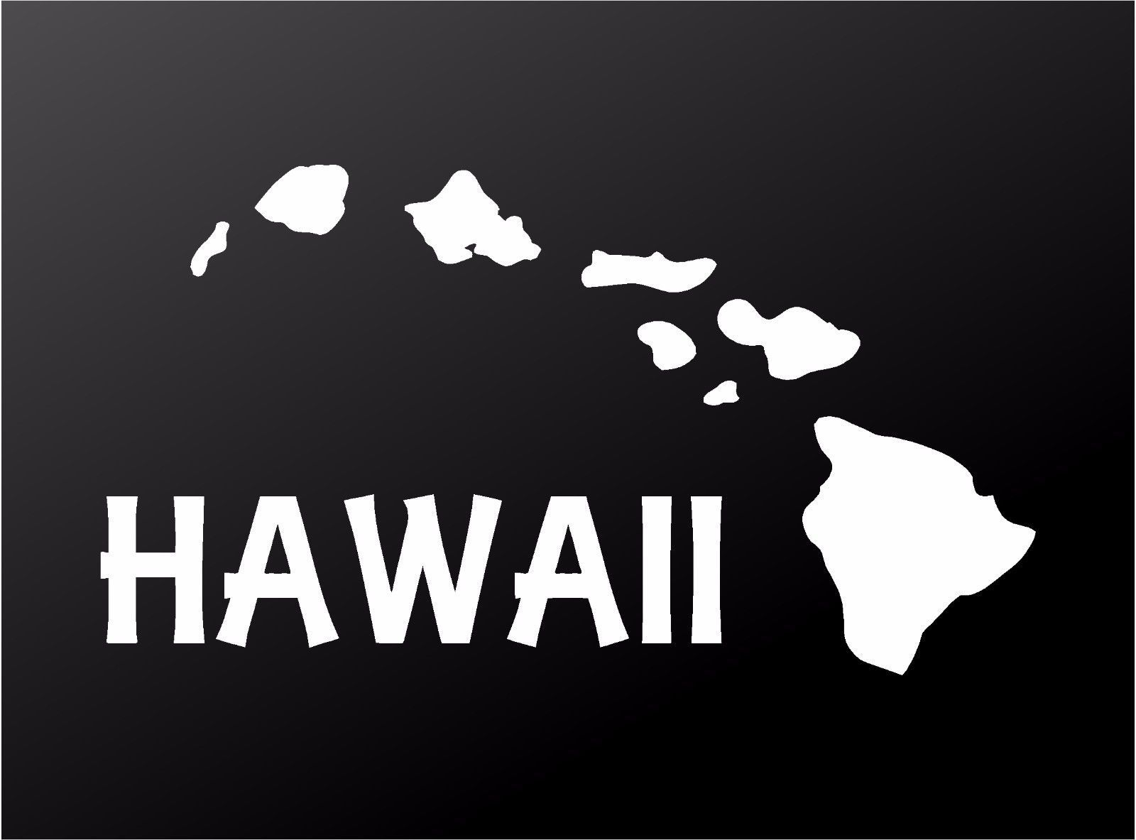 Hawaiian Islands Vinyl Decal Hawaii Aloha Car Window Laptop Surf Sticker Ebay Surf Stickers Surfboard Stickers Hawaii [ 1183 x 1600 Pixel ]