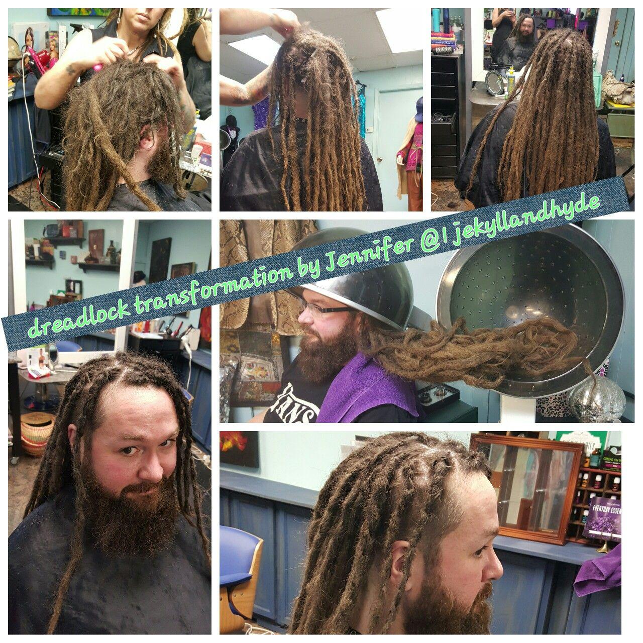 Transformation Dreadlocks Dreads Locs Itisallhis Hairstylist