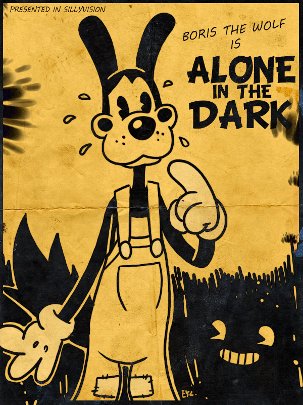 Bendy And The Ink Machine Boris The Wolf By Theeyzmaster Bendy And The Ink Machine Boris The Wolf Ink