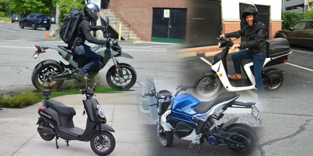 Urban Electric Motorcycle And Scooter Showdown Zero Fxs Vs City
