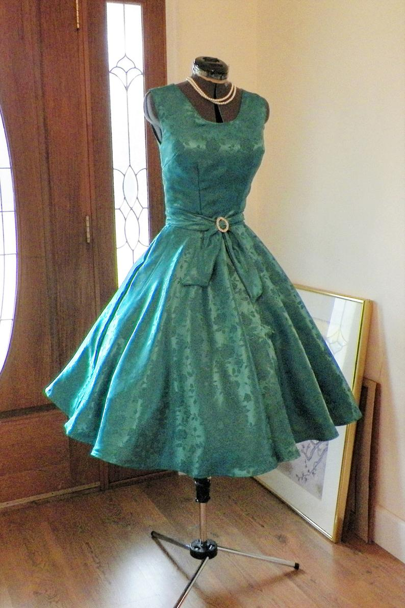 Pin On Gorgeous 50s Style Dresses [ 1192 x 794 Pixel ]