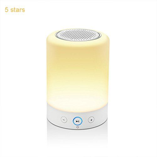 lightstory smart light speaker bedside lamp with bluetooth