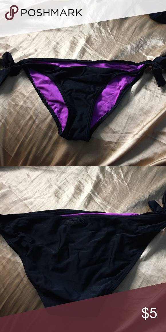 Ripcurl side tie thick bikini bottoms really good thick material ripcurl side tie thick bikini bottoms really good thick material bikini bottoms worn a few ccuart Images