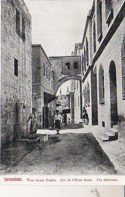 Jerusalem القدس الشريف صوره قديمة لطريق الالام Jerusalem Palestine Old Photos