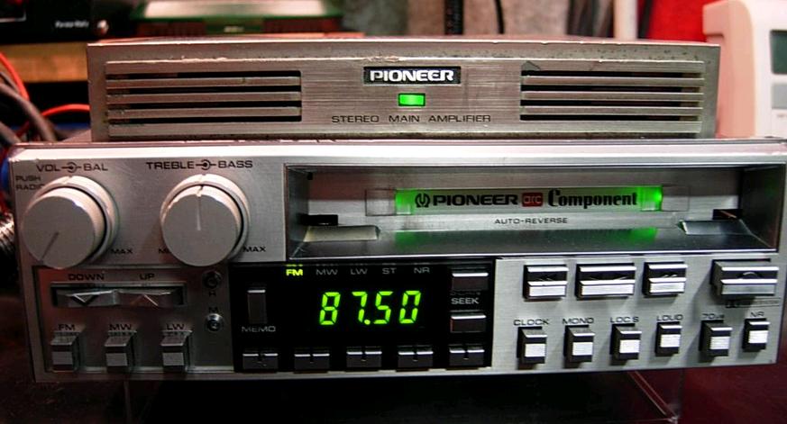 radio pioneer kex 73 component ampli gm620 r tro mobile autoradio k7 vinyle vinyle vintage. Black Bedroom Furniture Sets. Home Design Ideas