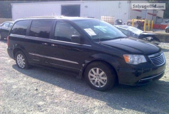 2014 Chrysler Town Country Vin 2c4rc1bgxer218426 Country
