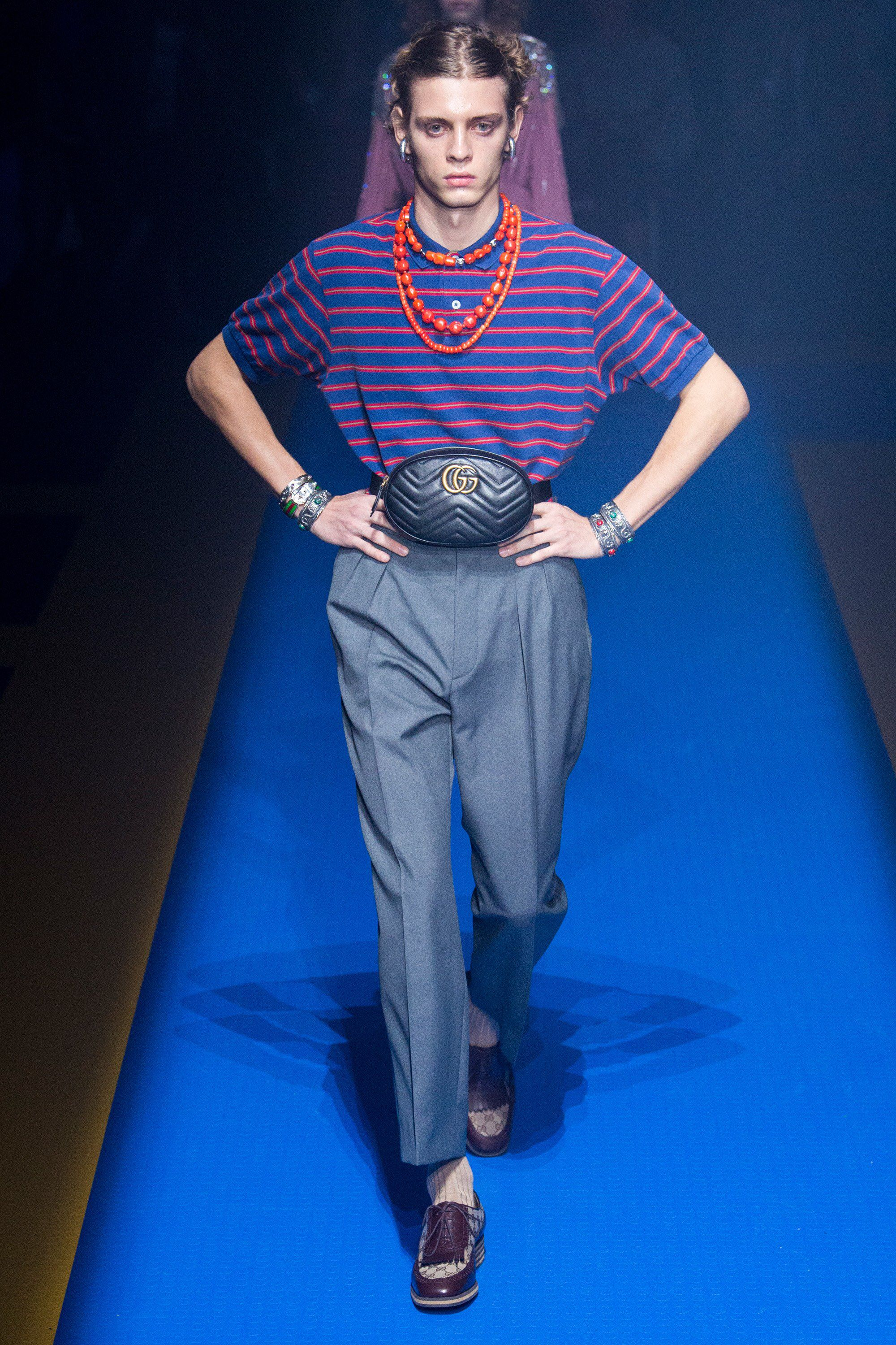a06f056ff0d Gucci Spring 2018 Ready-to-Wear Fashion Show Collection