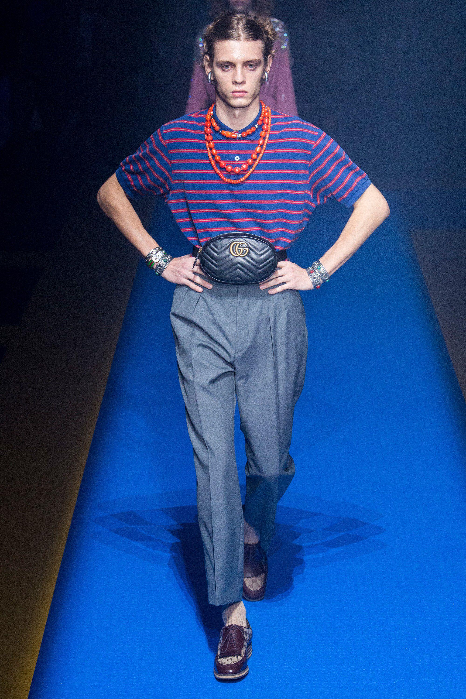 e8b072798 Gucci Spring 2018 Ready-to-Wear Fashion Show in 2019 | Andro | Gucci ...