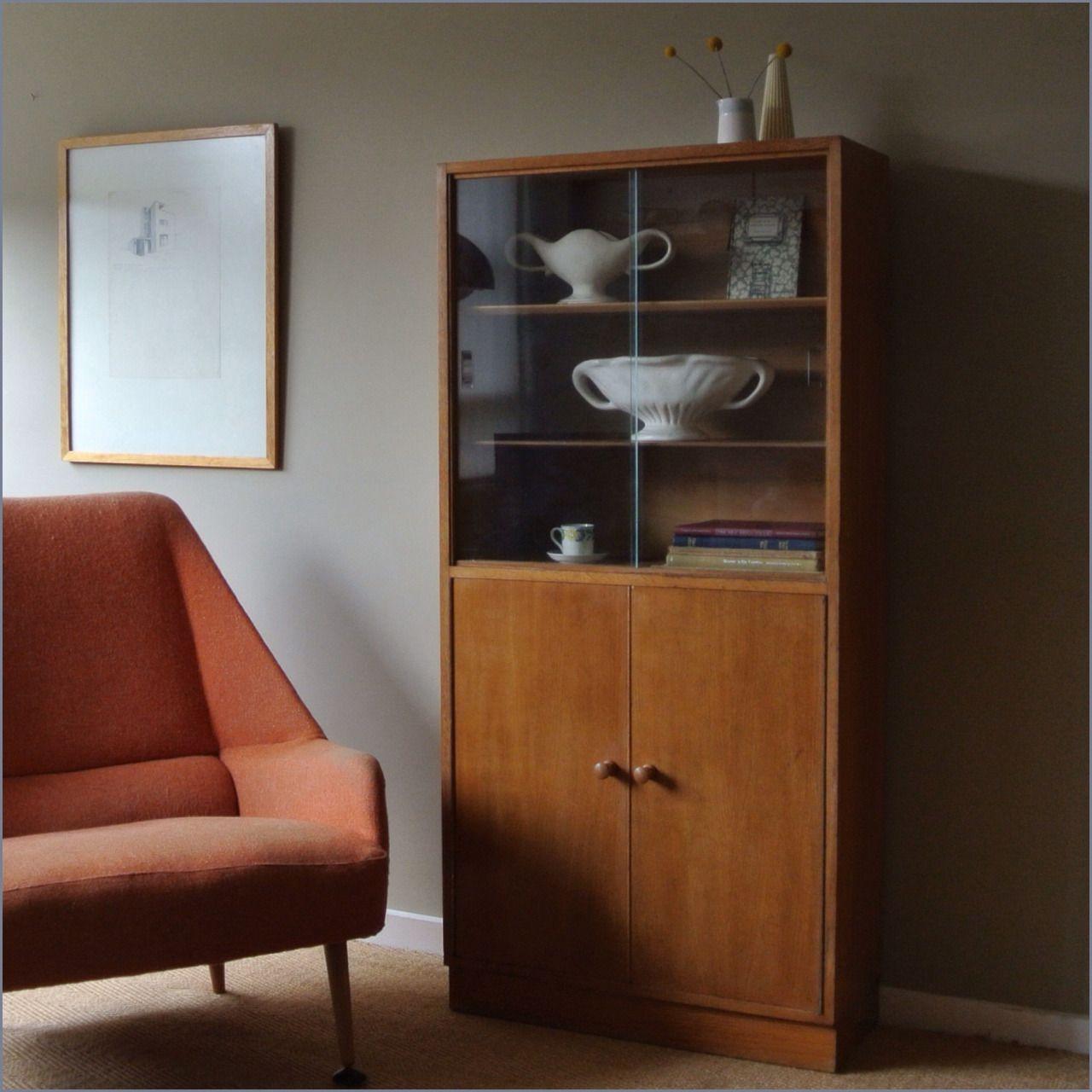 A Cumbrae Range Book Cabinet By Neil Morris For H Morris Co Ltd