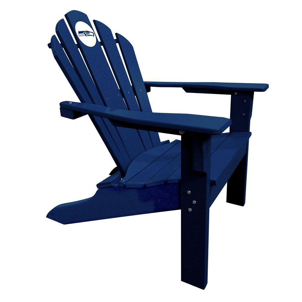 Seattle Seahawks Big Daddy Navy Composite Adirondack Deck Chair