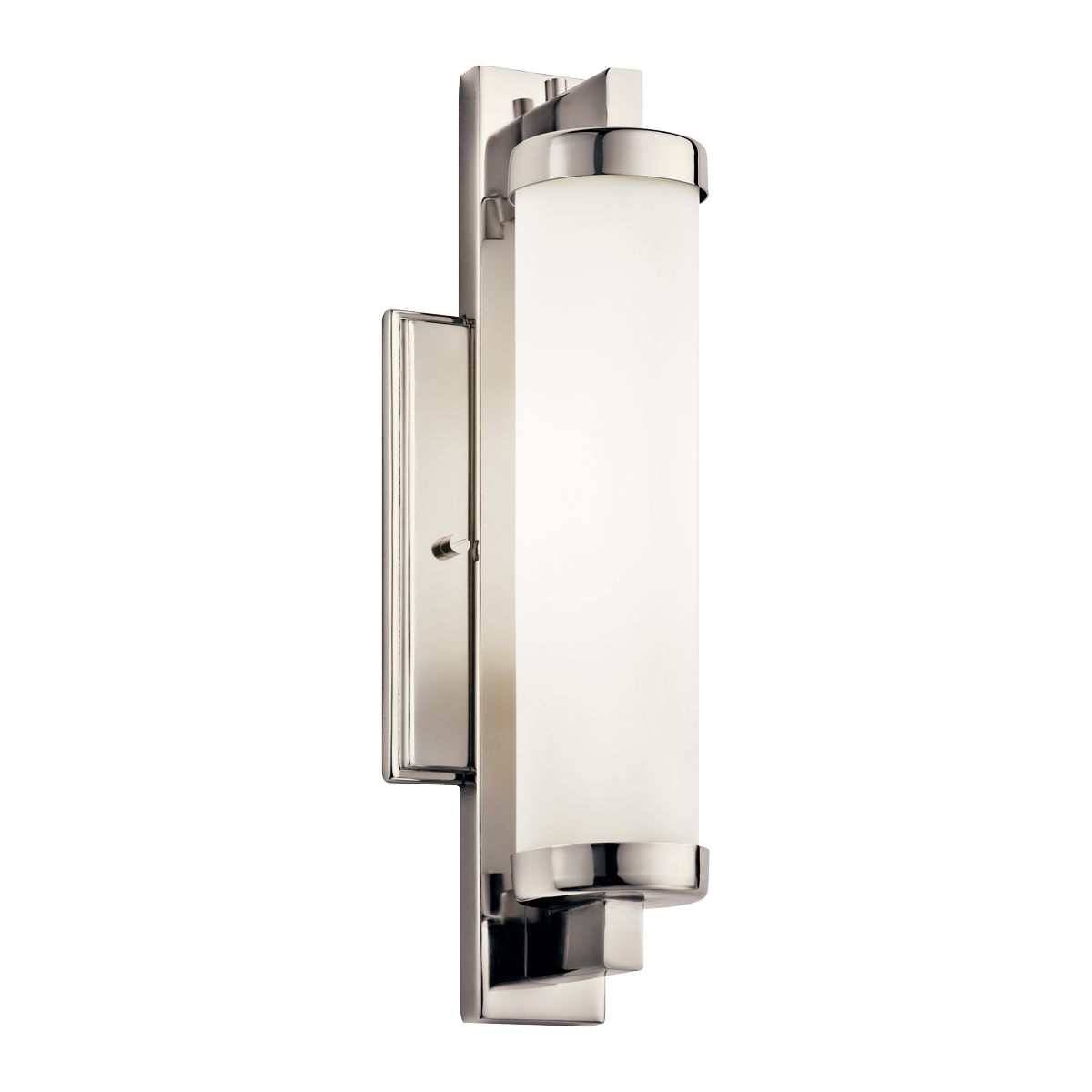 Jervis Light Fluorescent Wall Sconce In Polished Chrome - Bathroom wall sconces polished chrome