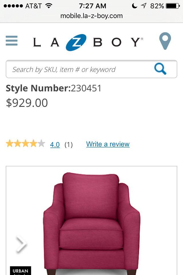 Lazy Boy Design A Room: Lazy Boy Talbot Premier Stationary Chair