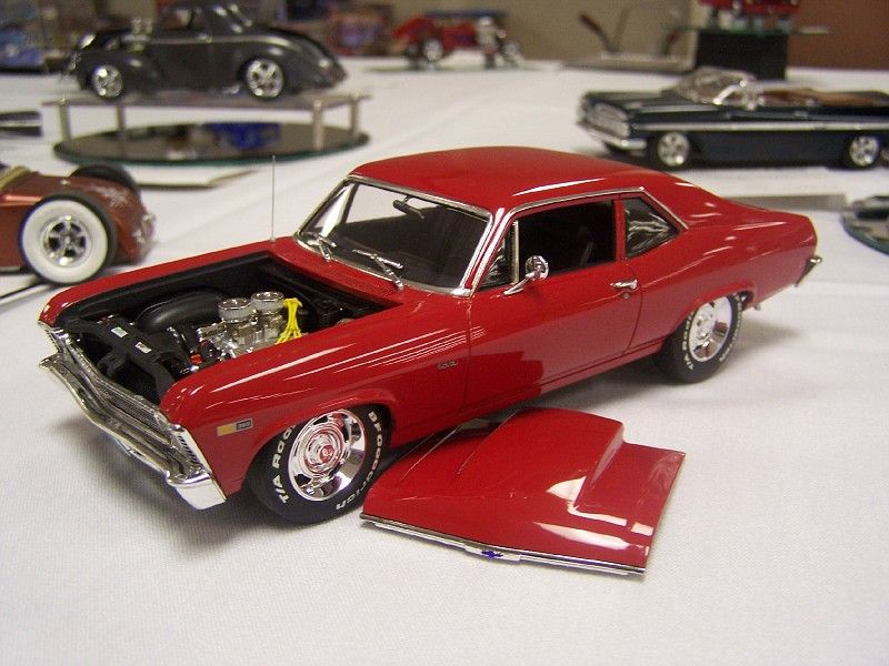 1970 71 Chevy Nova Probably The Revell Version Model Cars Kits
