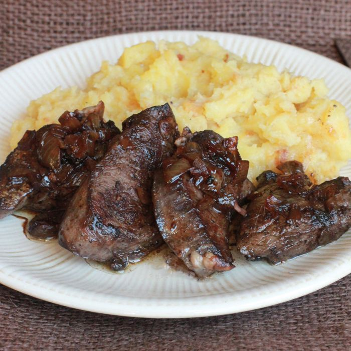 Venison Medallions with Balsamic Reduction
