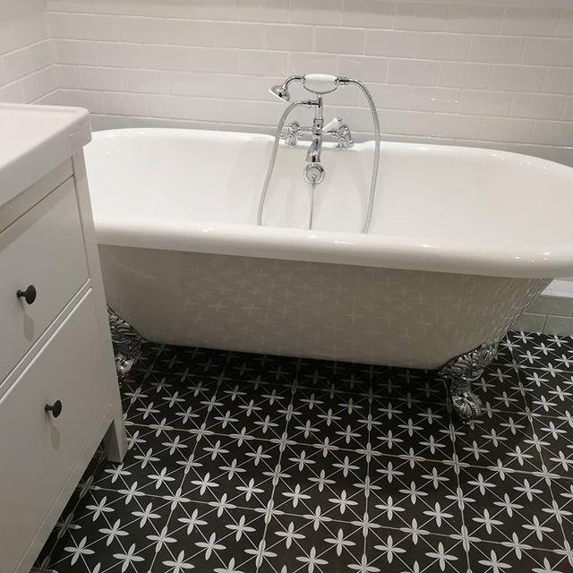 Laura Ashley Wicker Charcoal Wall Floor Tiles 33x33cm Laura Ashley Bathroom Laura Ashley Laura Ashley Floor Tiles