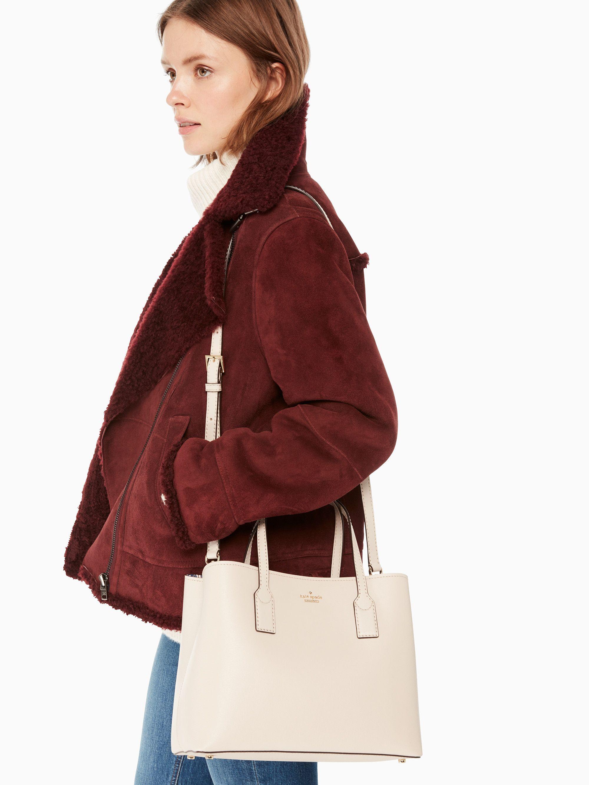203726c5cdc2 Kate Spade Hadley Road Small Dina Crossbody Bag - Tusk  katespade   crossbody  springbags