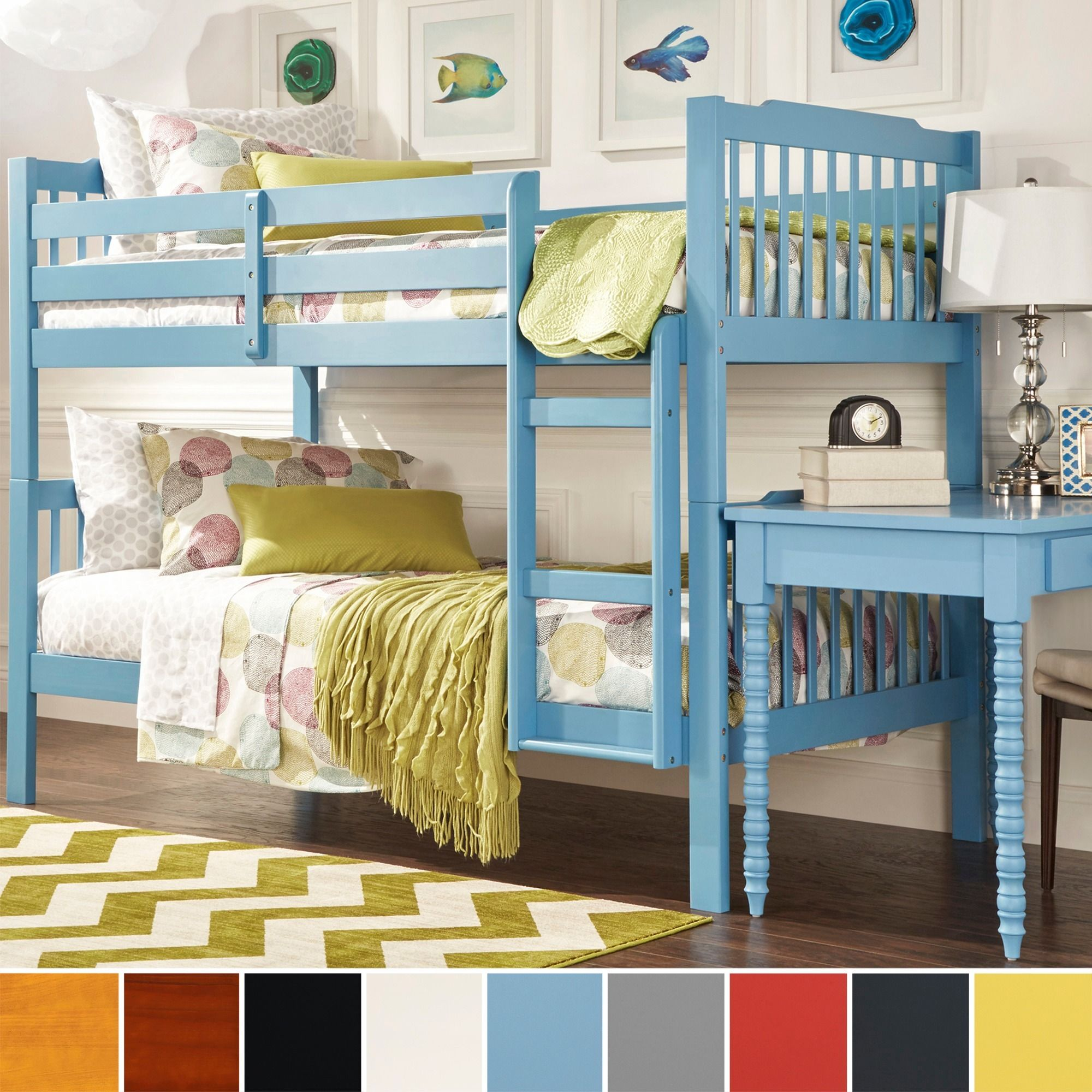 Simone Twin and Twin Bunk Beds by iNSPIRE Q Junior by iNSPIRE Q