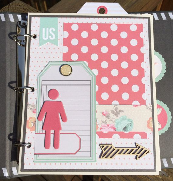 Mini Album Kit Or Premade Scrapbook Album Everyday By Artsyalbums