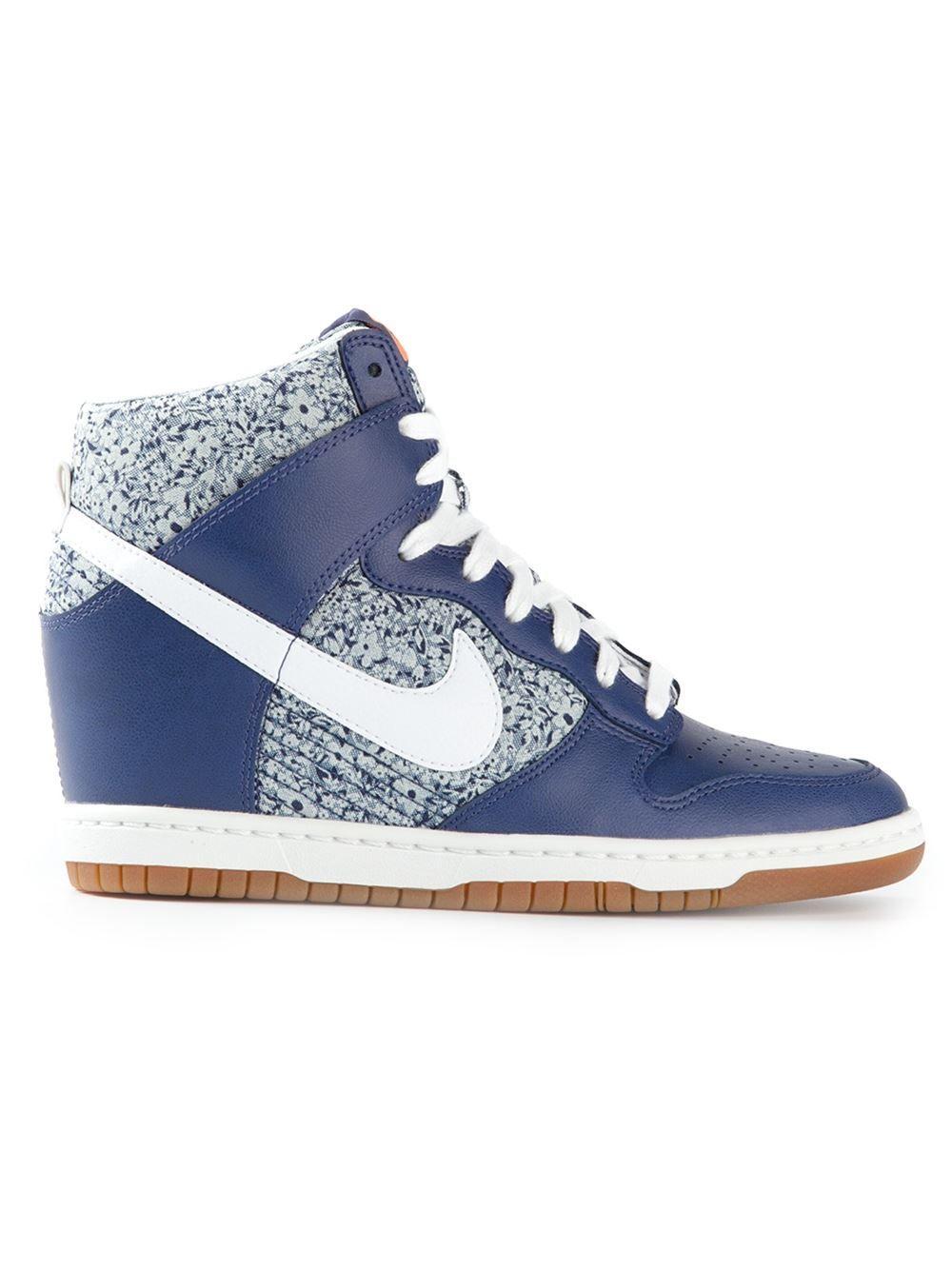 wholesale dealer 7f075 abbb3 NIKE   DUNK SKY HI-TOP SNEAKERS Floral Heels, Nike Dunks, Types Of
