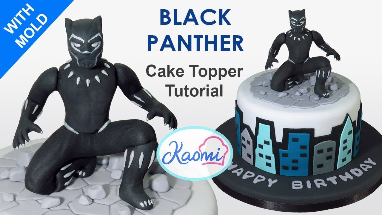 10+ Black panther fondant cake topper inspirations