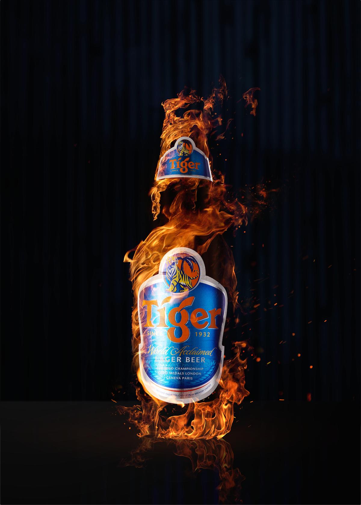 Tiger Beer On Behance Tiger Beer Beer Design Beer