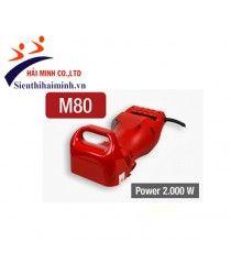 Máy cắt rãnh tường Macroza M80 Công suất: 2000 W Chiều sâu cắt: 20/30/35/45 mm Chiều rộng cắt: 15/25/30 mm Trọng lượng : 7.1 kg  Xuất xứ: Spain Bảo hành: 6 tháng