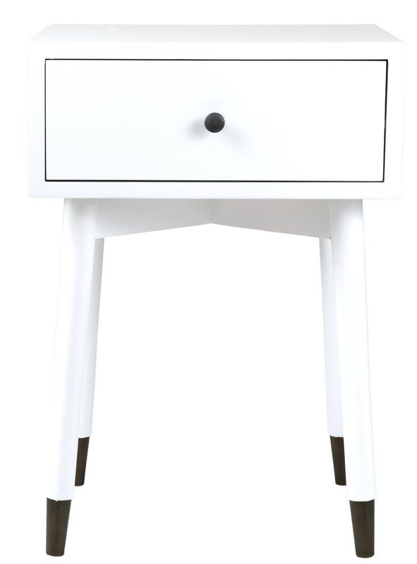 Pellston 1 Drawer Nightstand All Modern Furniture End Tables With Storage Furniture