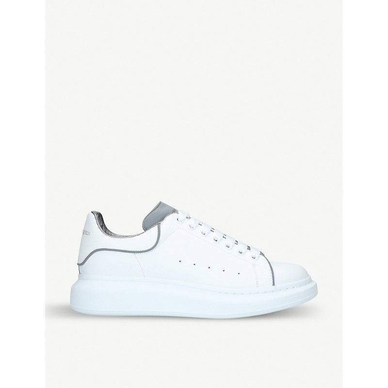 c31189e08d28 ALEXANDER MCQUEEN SHOW LEATHER PLATFORM TRAINERS.  alexandermcqueen  shoes
