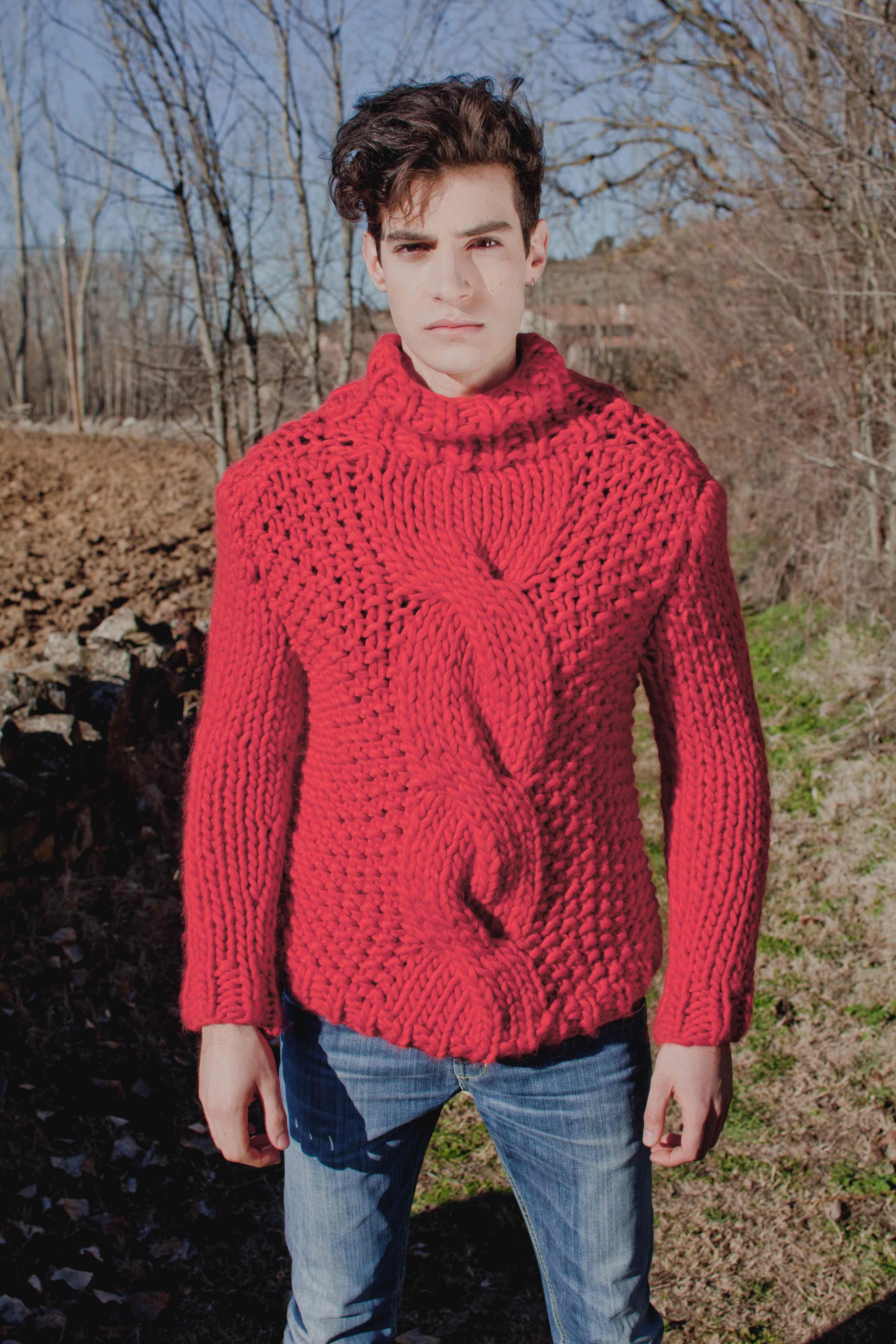 Schoener Stricken De illusion sweater strickset um sich dieses schöne modell selber zu