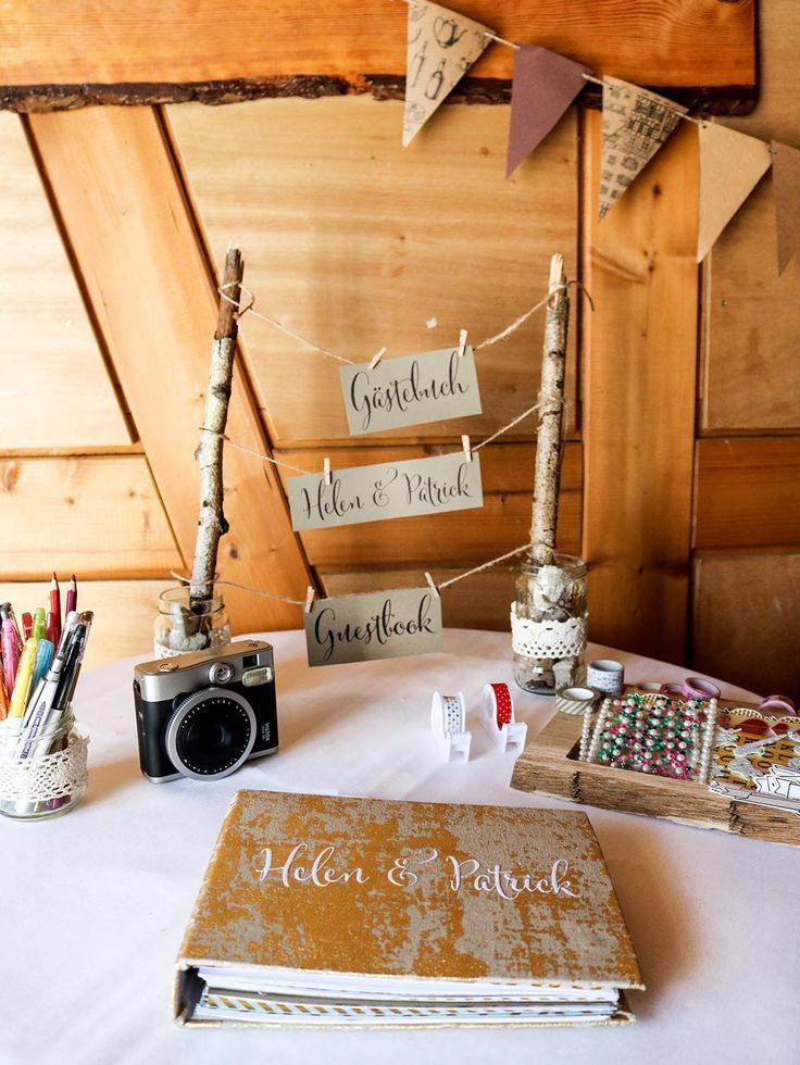 Photo of DIY – Wedding Guest Book – A Special Guest Book Table ›Instructions, Do It Yourself, Wedding› Wedding Decoration, DIY Wedding, Guest Book, Wedding Guest Book, Wedding, Wedding Ideas