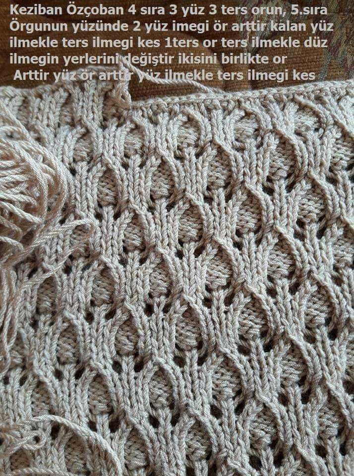 Pin von Sibijaka auf Knitting charts, patterns, tips | Pinterest