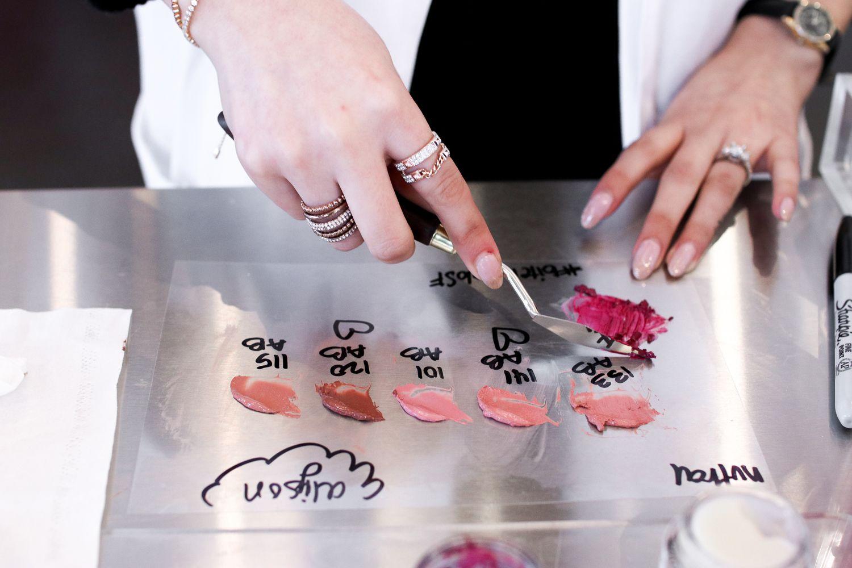 Making a Custom Lipstick at Bite Beauty Lip Lab Bite