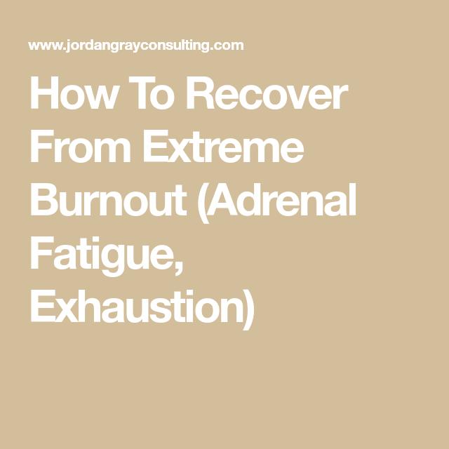 Extreme fatigue stress 8 Causes