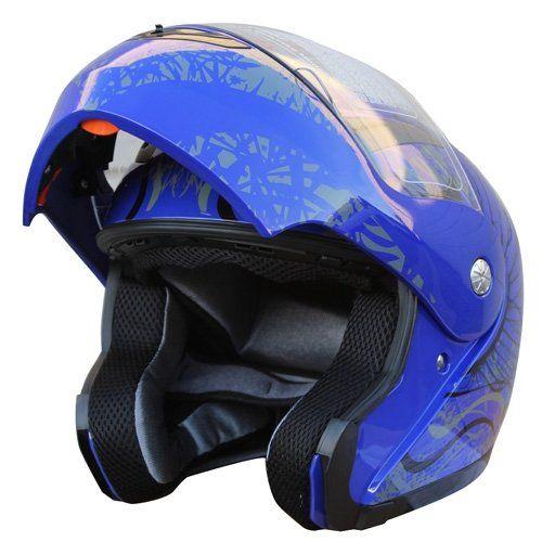 Adult DOT Modular Flip Up Sports Motorcycle Helmet (610) 228 Blue Small X4 http://www.amazon.com/dp/B0053EUX6O/ref=cm_sw_r_pi_dp_HIcTtb0N71VQEKNA