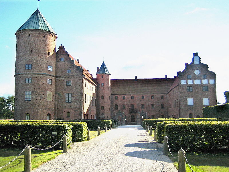 Skarhults Castle Skarhults Slott In Eslov Municipality Scania In Southern Sweden The Present Castle Was Cons Swedish Travel Europe Castles European Castles