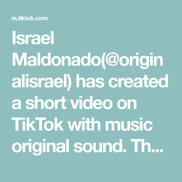 Israel Maldonado(@originalisrael) has created a short video on TikTok with music original sound. That was a close one 😅 @amanialzubi #fyp #foryou #foryoupage #couple #couplegoals #comedy