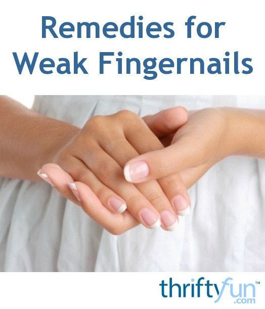 Remedies for Weak and Thin Fingernails | Thin nails, Remedies and ...