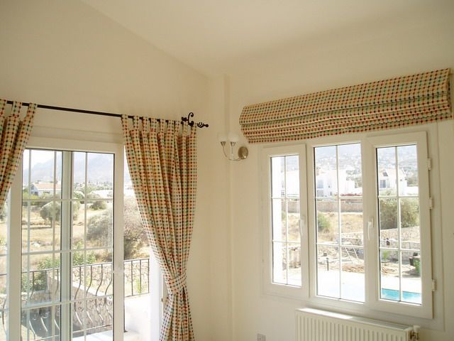 Mixing Blind And Curtain In Same Room Master Bedroom