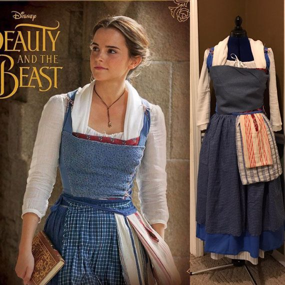 Adult Blue Peasant Village Dress Costume Cosplay inspired ...