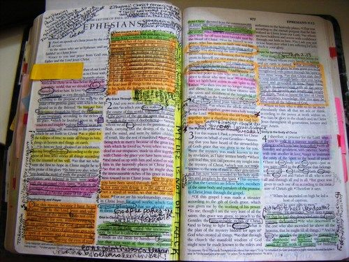 A bible that's falling apart usually belongs to someone who isn't.        -Charles Spurgeon