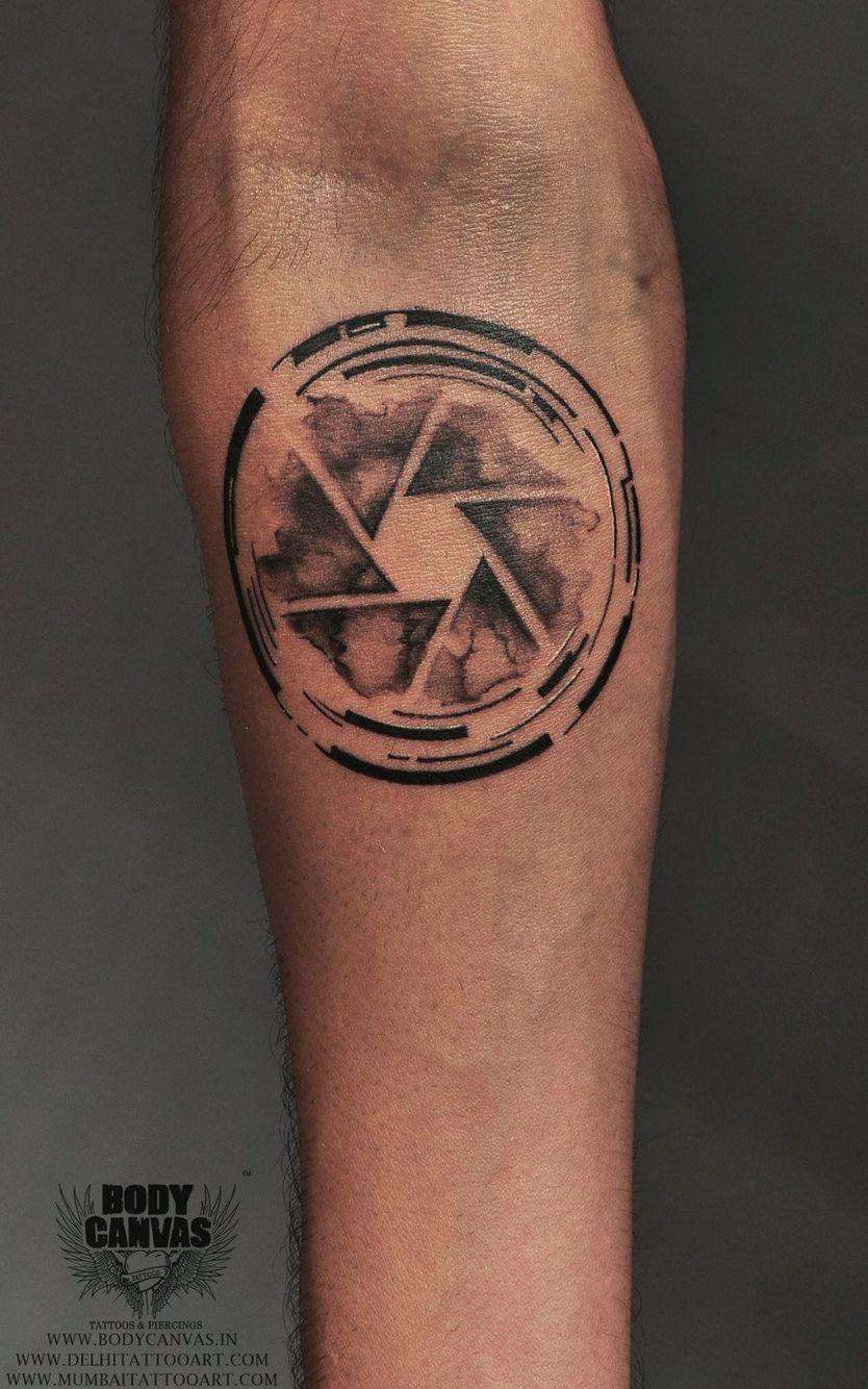 Tattoo Photography: Camera Tattoos, Aperture Tattoo