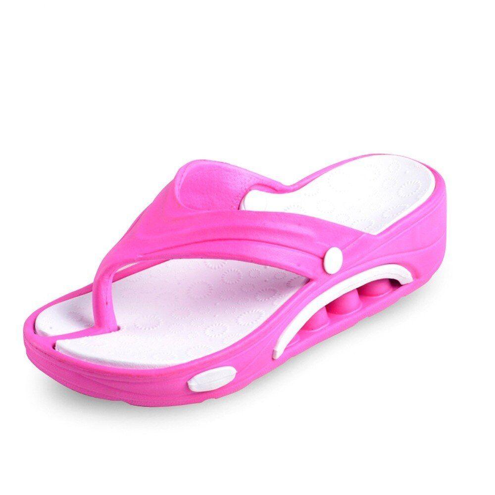 Peize Women Breathable Lightweight Sandals,Ladies Massage Comfortable Flip Flops Beach Shoes