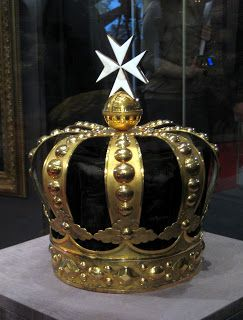Crown of the Order of Malta The head of the Order of Malta is an elected Princely Title in its own right. They are called; His Eminent Highness, the Prince and Grand Master of the Order of Malta. Paul I of Russia was elected to this position and had this crown made especially for this title. Even though the Order exists to this day and continues to be lead by an elected Prince, the crown however remains in Russia on display in the Kremlin.