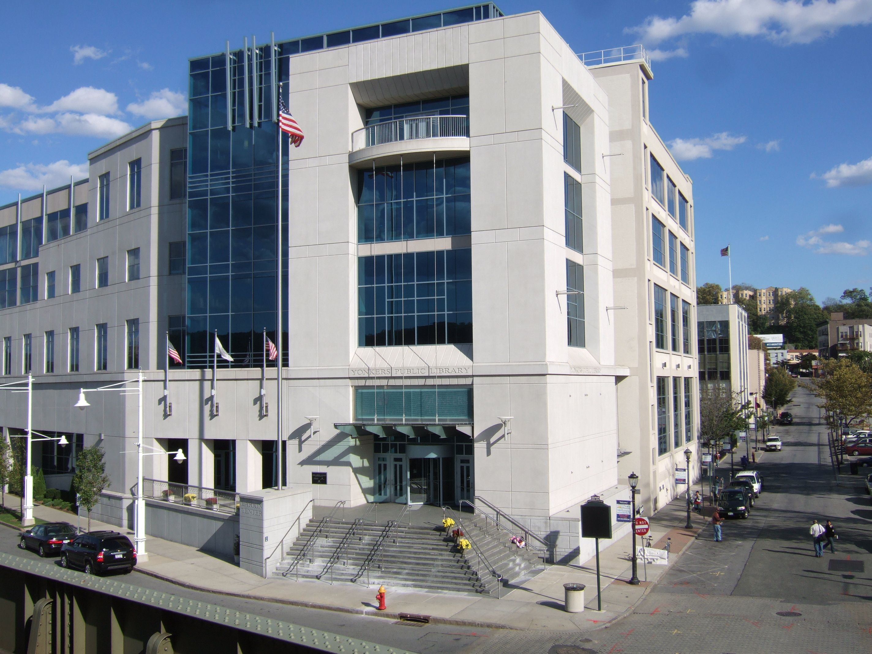 Yonkers Parking Tickets >> The Riverfront Library In Yonkers 20 Minute Drive Away Limited