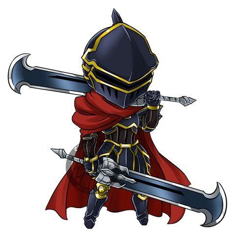 Overlord Albedo Sticker Armor