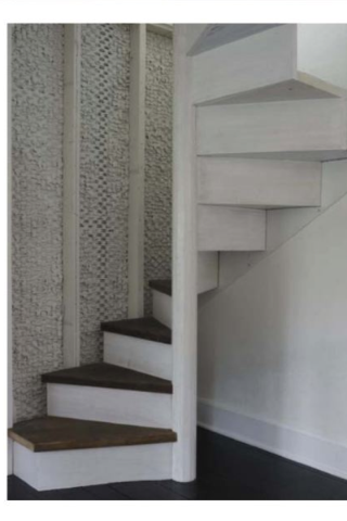 Pin By Jacqueline Keltner On Bedroom Tiny House Stairs Small | Concrete Ladder Design For Home | Low Budget | Beautiful | Construction | Small Space | Simple