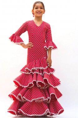 Niña Micaela Villa Flamenca Niña Niños Moda Flamenca
