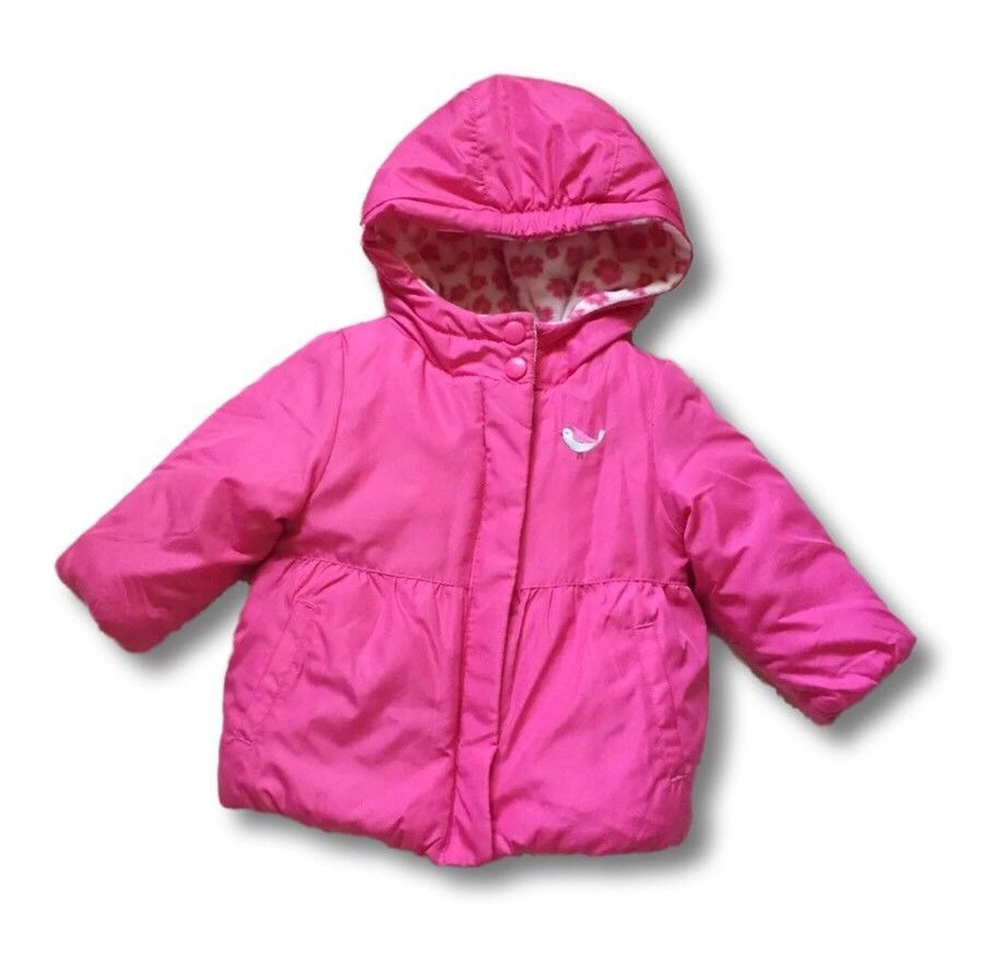 0a9946f2763e Carters Child Of Mine Baby Girl Puffy Bubble Winter Jacket 6-9 ...
