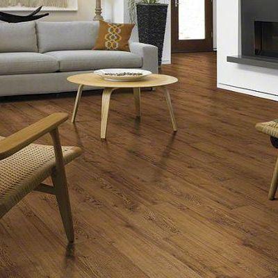 Luxury vinyl plank flooring that looks like wood luxury for Dark wood linoleum flooring